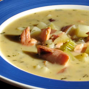 Mimi's Smoked Salmon Chowder- Salmon Fillet Recipes - Dalian Ruize ...