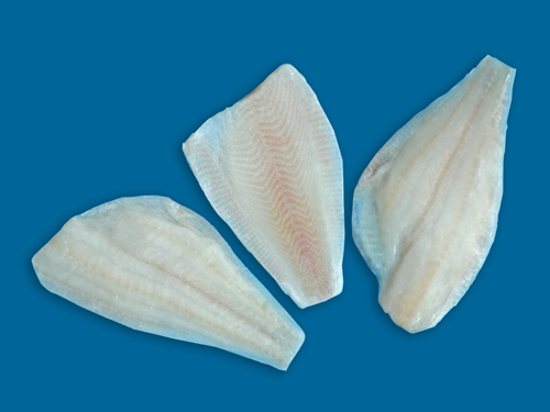 Yellowfin sole fillt with skirt iqf yellowfin sole for Sole fish fillet